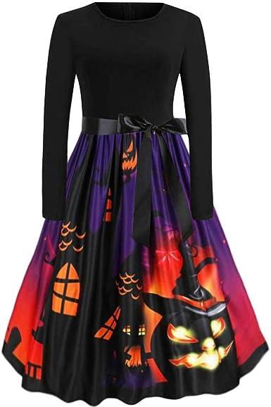 Vestiti Eleganti Halloween.Innerternet Vestiti Donna Eleganti Halloween Costume Vintage Stile