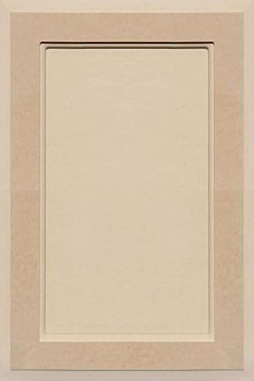 cabinet door flat panel. Unfinished MDF Square Flat Panel Cabinet Door By Kendor, 18H X 12W