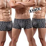 MAKEIIT Young Underwear X-Temp Boxers Guys Underwear Fitted Cool Boxer Briefs Men