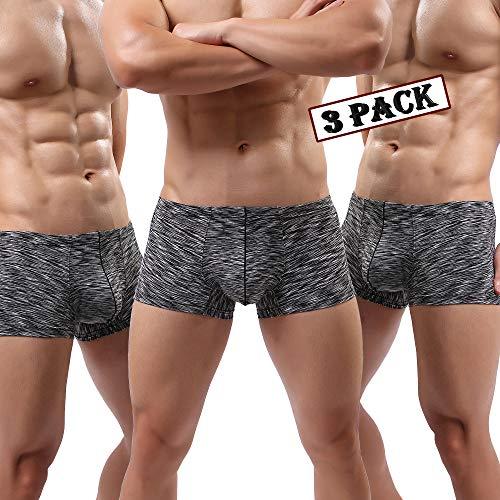 MAKEIIT Young Underwear X-Temp Boxers Guys Underwear Fitted Cool Boxer Briefs Men by MAKEIIT