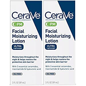 CeraVe Facial Moisturizing Lotion PM Ultra Lightweight 6 oz