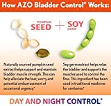 AZO-Bladder-Control-with-Go-Less-Dietary-Supplement–Helps-Control-the-Need-to-Go-to-the-Bathroom-Reduce-Occasional-Urgency–Supports-a-Good-Nights-Sleep–Naturally-Sourced–72-Capsules