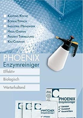 Phoenix enzima Limpiador - Alfombra Limpiador Spray ...