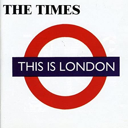 Image result for this is london the times
