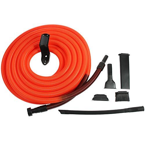 Centec Systems 93565 Shop Vacuum Garage Kit, 50', Orange/Black