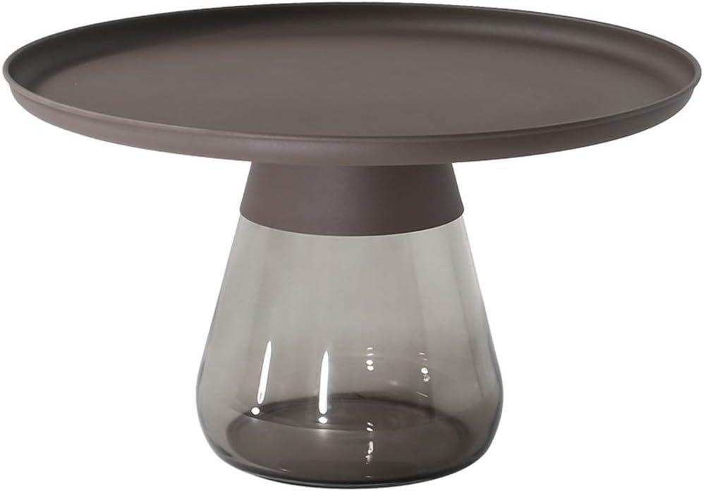 Beste Keuze ZRRtables Retro vaas vorm salontafel creatief glas koffietafel woonkamer sofa tafel moderne designer bijzettafel opbergbaar koffie accenttafel C. Z23NYS9