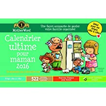 MotherWord Mom's Ultimate Magnetic 16 Month Calendar, September 2015-December 2016, French Version, 9-1/2 X 15-Inch