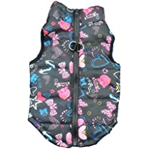 Hot Sale!!Pet Cartoon Cute Cloth,Dog Winter Jacket Vest