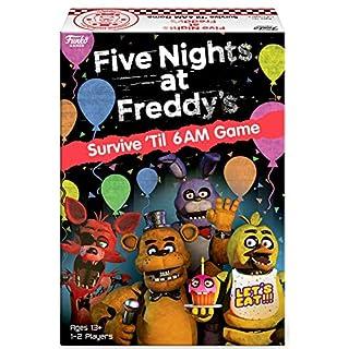 Board Games 51761 Signature Five Nights at Freddy's Game, Multicolour