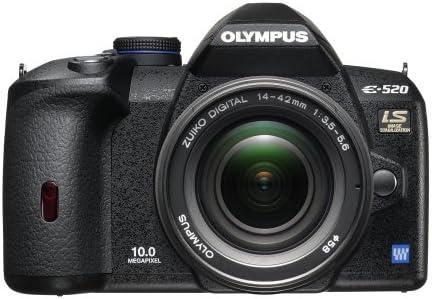 Olympus Evolt E520 10MP Digital SLR Camera with Image Stabilization w/ 14-42mm f/3.5-5.6 Zuiko Lens