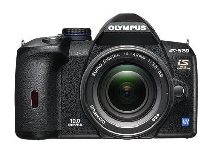 amazon com olympus evolt e520 10mp digital slr camera with image rh amazon com