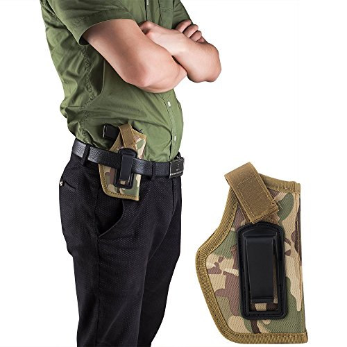 GVN Tactical Concealed Belt Holster Pistol Holster Fits Compact/Subcompact Pistols Camouflage
