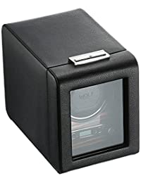 Wolf Designs 457056 Module 2.7 Roadster Single Watch Winder with Cover