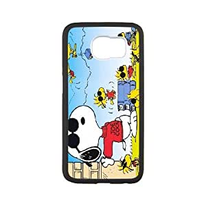 Snoopy For Samsung Galaxy S6 Custom Cell Phone Case Cover 96II654756