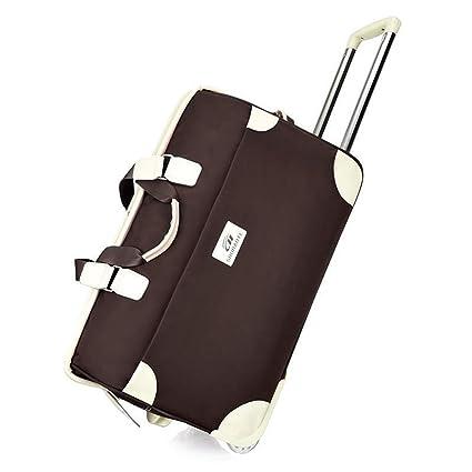 b94dd46751d7 Amazon.com: Minmin-lgx 20inch Black Luggage Rolling Duffle Trolley ...