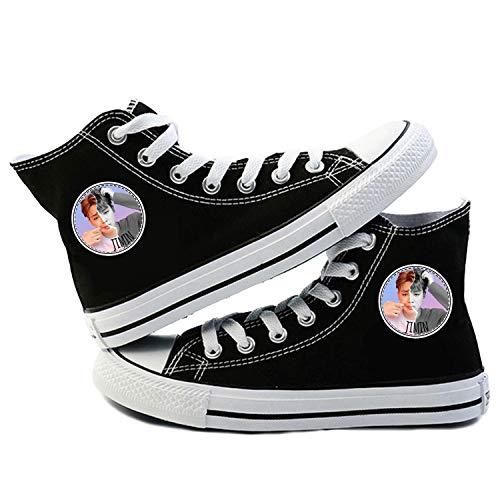 Y Sneakers Uomini Scarpe I S Canvas women up Donna Da Pizzo Per Current Bts Piatto Traspirante top High Accessori Kpop ' Leisure Jimin Concerto Giovani q6wCBArqx