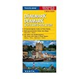 Denmark & Schleswig-Holstein 1:300 000 Travel Map with city plans, KUNTH