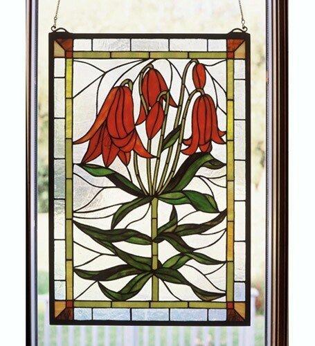 Meyda Tiffany Trumpet Lily Window, MT-32660 ()