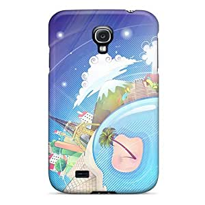 High Impact Dirt/shock Proof Cases Covers For Galaxy S4 (world 3d)