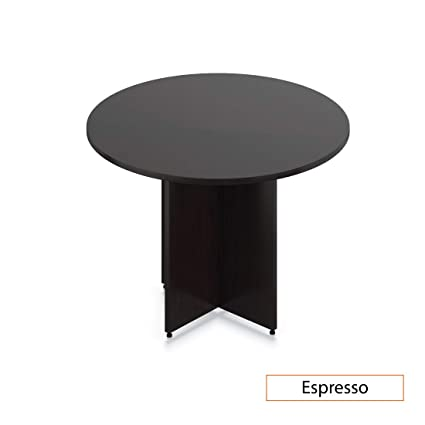 Incredible Amazon Com Gof 48 Round Table 48W X 48D X 29 5H Cherry Home Remodeling Inspirations Genioncuboardxyz