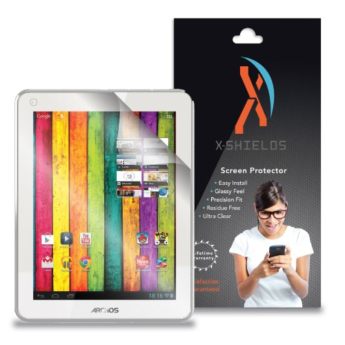 Archos Screen Protector - XShields© (5-Pack) Tablet Screen Protectors for Archos 80 Titanium (Ultra Clear)