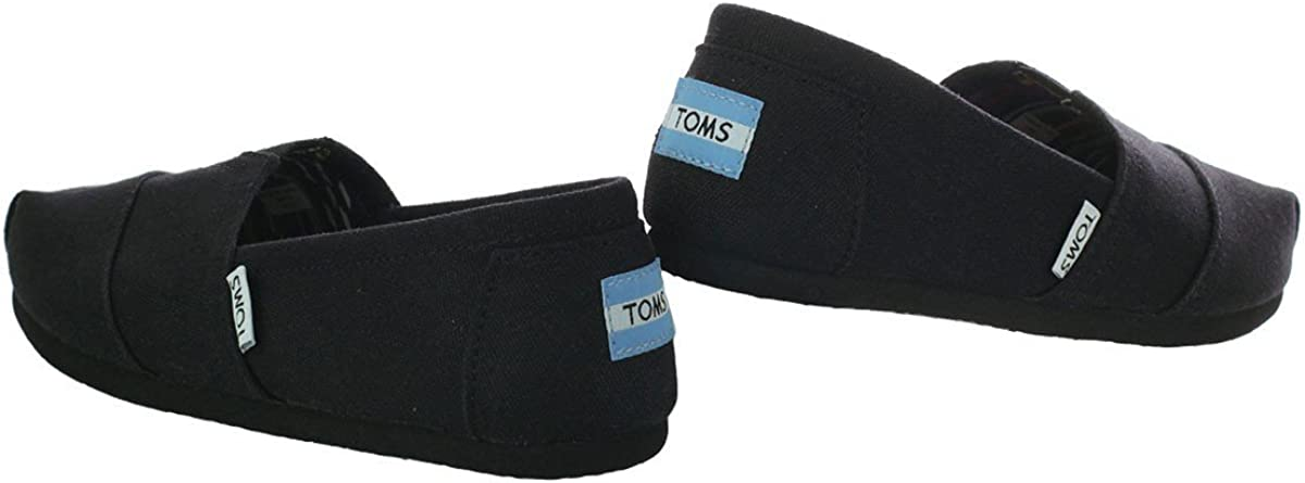 TOMS Women's Alpargata University Classics Low-Top Slippers Nero Su Nero
