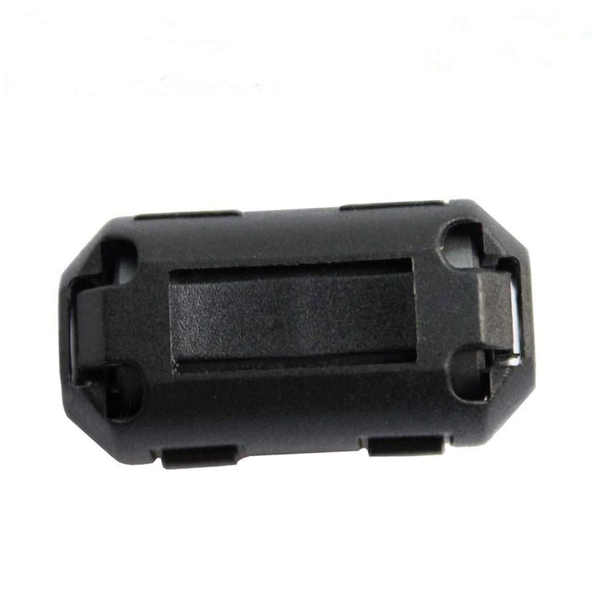 100ea inner 7mm clip EMI ferrite bead for USB HDMI digital power cable wire UF70B ferrite core
