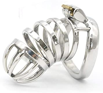 Cinturón de castidad para jaula de pene para hombre anillo de ...