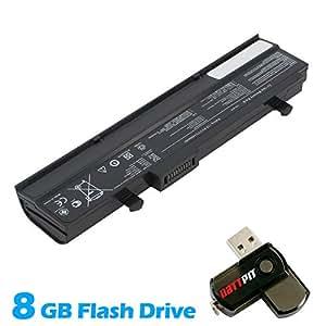 Battpit Bateria de repuesto para portátiles Asus Eee PC 1011CX (4400mah/49wh) Con memoria USB de 8GB GRATUITA