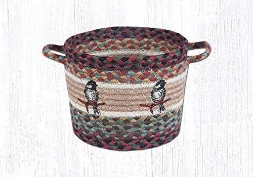 Earth Rugs 38-UBPSM081C Basket, 7x9x0.17, Multicolor from Earth Rugs
