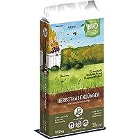Plantura Bio Herbstrasendünger Langzeitwirkung | für maximale Winterhärte | 100% tierfrei & Bio-Zertifiziert | gut für den Boden | unbedenklich für Haus- & Gartentiere | Rasendünger | NPK 5-1-9