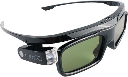 JMGO HGL1 Gafas 3D LCD con obturador activo Gafas de realidad ...