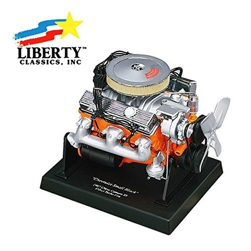Engine model (1: 6 Chevrolet Camaro 350 engine) / car Liberty Classics 1/6 Engine Chevrolet Camaro 350 Small Blocks - Pre Built Model
