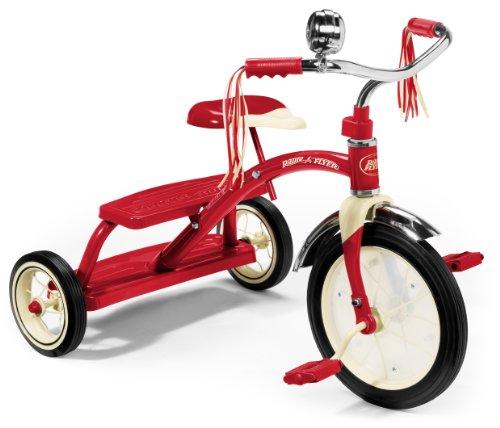 Radio Flyer 12-inch Classic Dual Deck Trike (Red)