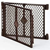 North States MyPet 2-Panel Extension for MyPet Petyard: Attaches Easily with no Tools and adds 11.5 sq. ft. of Play Space (2-Panels, Brown)