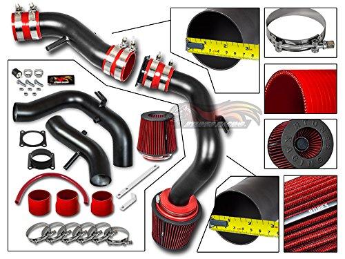 R&L racing For 02-06 Nissan Sentra SE-R/Spec V 2.5L Matte Black Cold Air Intake System + Filter 02+ Sentra Ser Spec