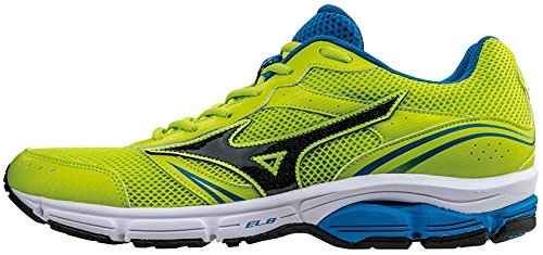 Mizuno Shoes Running Officially Wave Impetus 3 J1GE151311 Lime Nero Royal Size 45 SHIPPED FROM ITALY