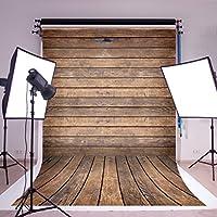 Vintage Wood Photo Backdrop 5x7ft(150x220cm)No Crease Faux Wood Floor Backgrounds Photography