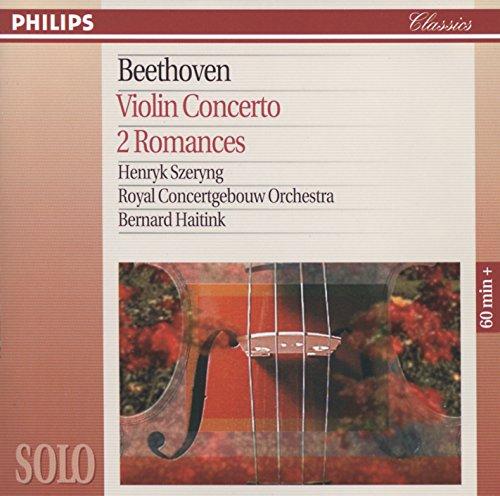 - Beethoven: Violin Concerto; Violin Romances Nos.1 & 2