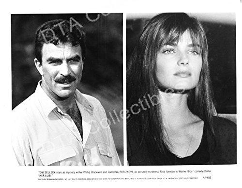 Movie Photo Her Alibi 1989 Tom Selleck Paulina Porizkova B W Still