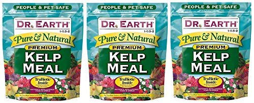 Dr. Earth 725 Kelp Meal 1-0. 5-2 2.5 Boxed, 2-Pound (Вundlе оf Тhrее) by Dr. Earth (Image #1)