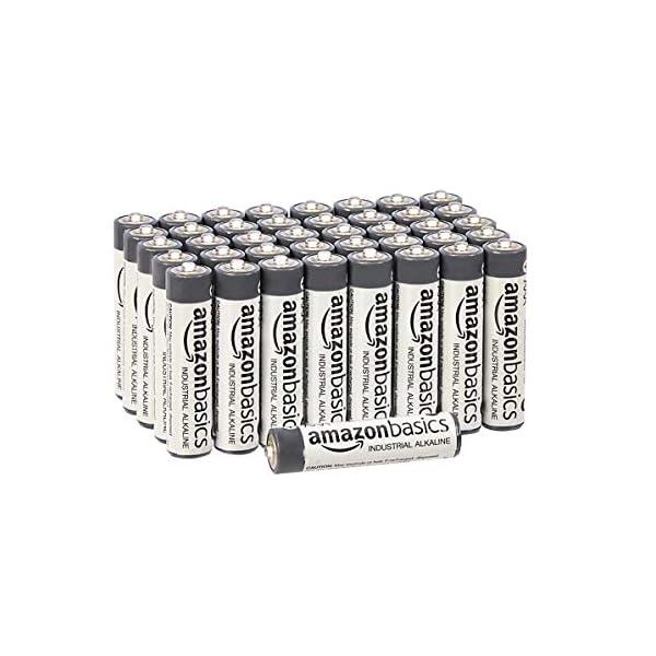 AmazonBasics AAA Industrial Alkaline Batteries (Pack of 40) 1 spesavip