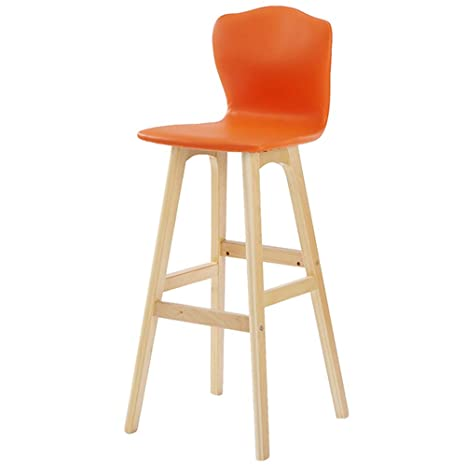 Tabouret De Bar Amazon.Amazon Com Chaise De Bar Chaise Haute En Bois Massif
