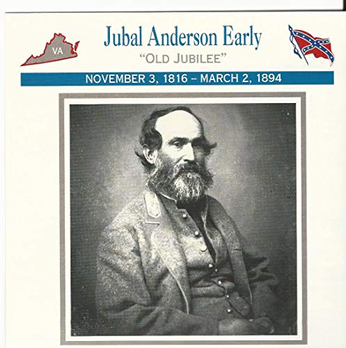 (1995 Atlas, Civil War Cards, 27.14 General Jubal Anderson Early)
