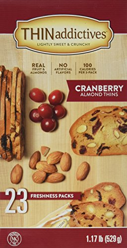 Almond Thins (Thin addictives Cranberry Almond Thins (23 pks))