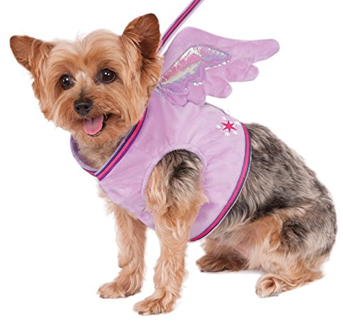 My Little Pony Costume For Dogs (Rubies Costume 580496_S My Little Pony Twilight Sparkle Pet Wing Harness, Small)