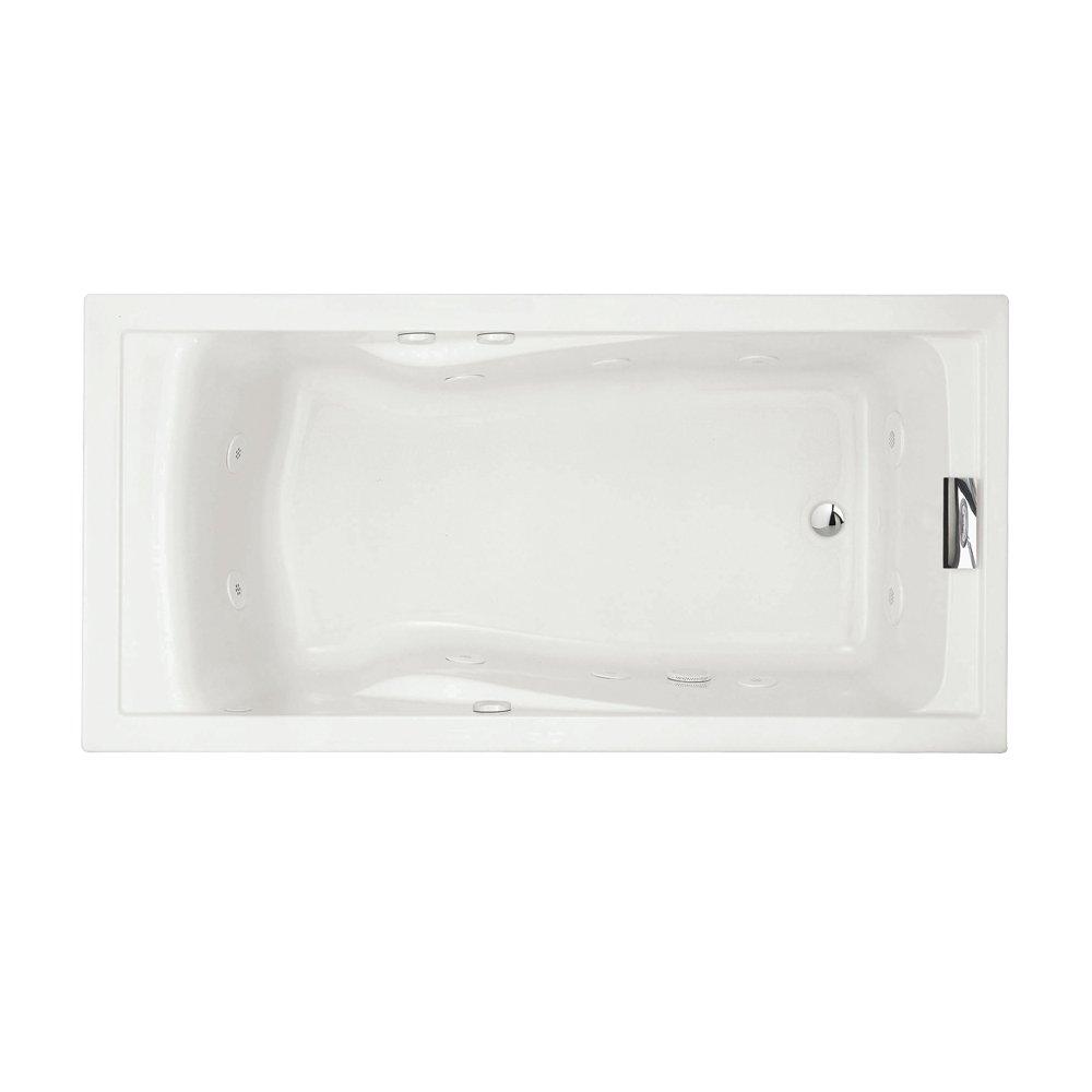 American Standard 7236VC.020 Evolution Deep Soak Whirlpool Bath Tub ...