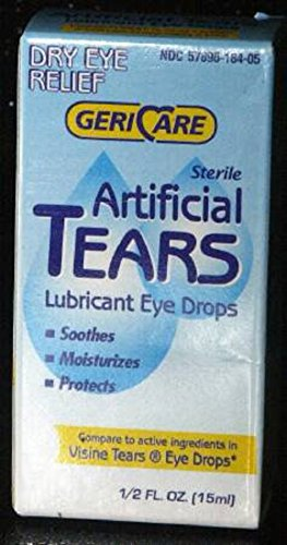 McKesson Brand - Lubricant Eye Drops - 48/Case - 0.5 oz. - Drop - McK by McKesson
