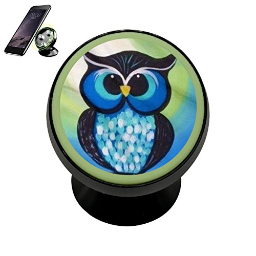 Kids Früehauf Owl Magnetic Phone Car Mount Holder Univers