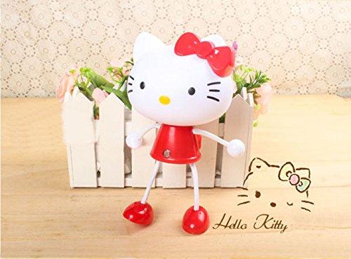 Cartoon Baby Kids Toddler Sensor Nightlight -Hello kitty, Panda, Frog (Hello kitty-Red)